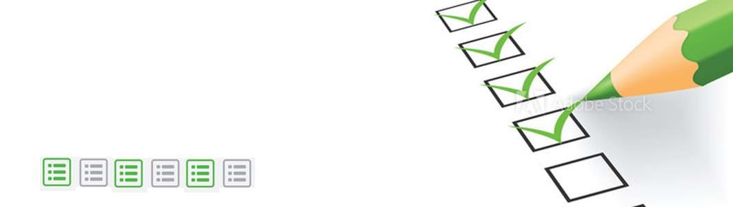 Ladda ner packlistor och checklistor för bokföring för småföretagare från listbanken.